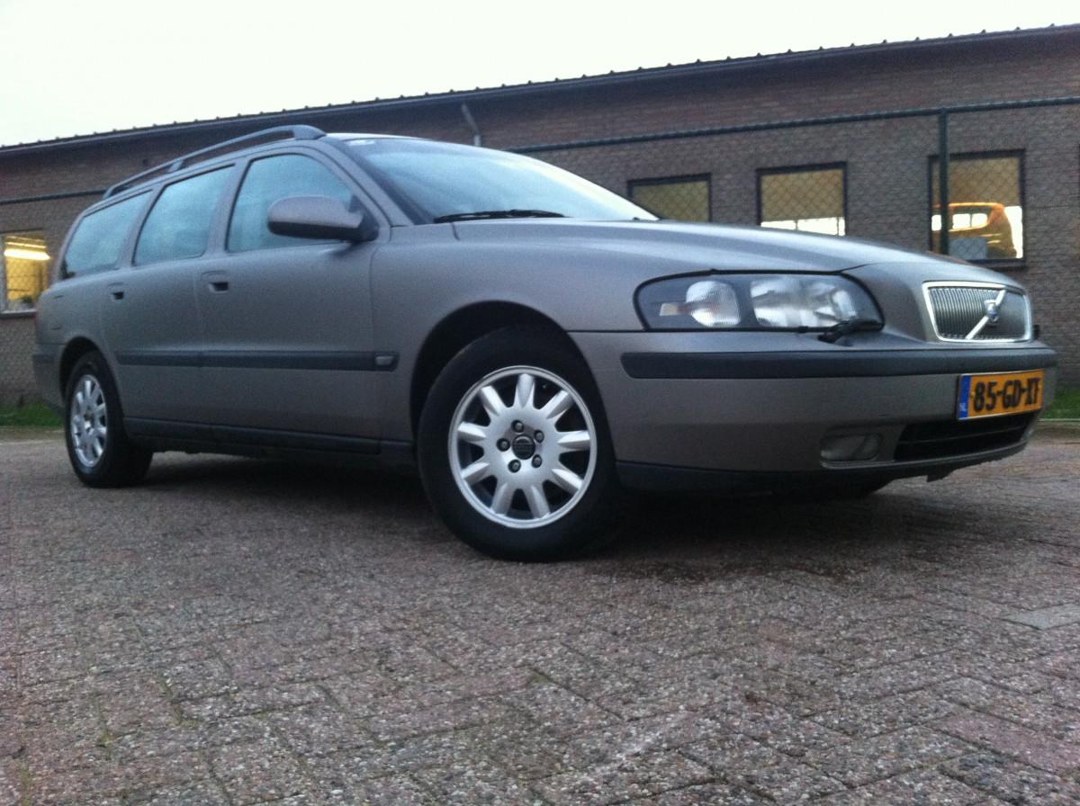 Carwrap Volvo v70