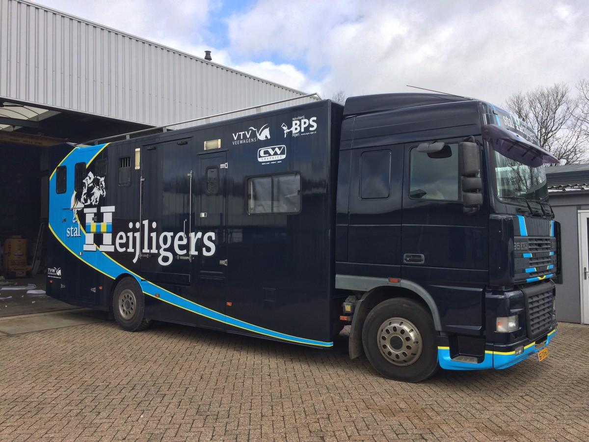 Vrachtwagen stal Heijligers