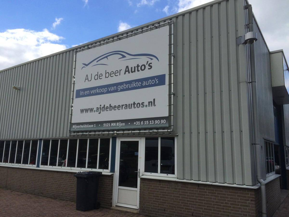 Gevel AJ de Beer Auto's