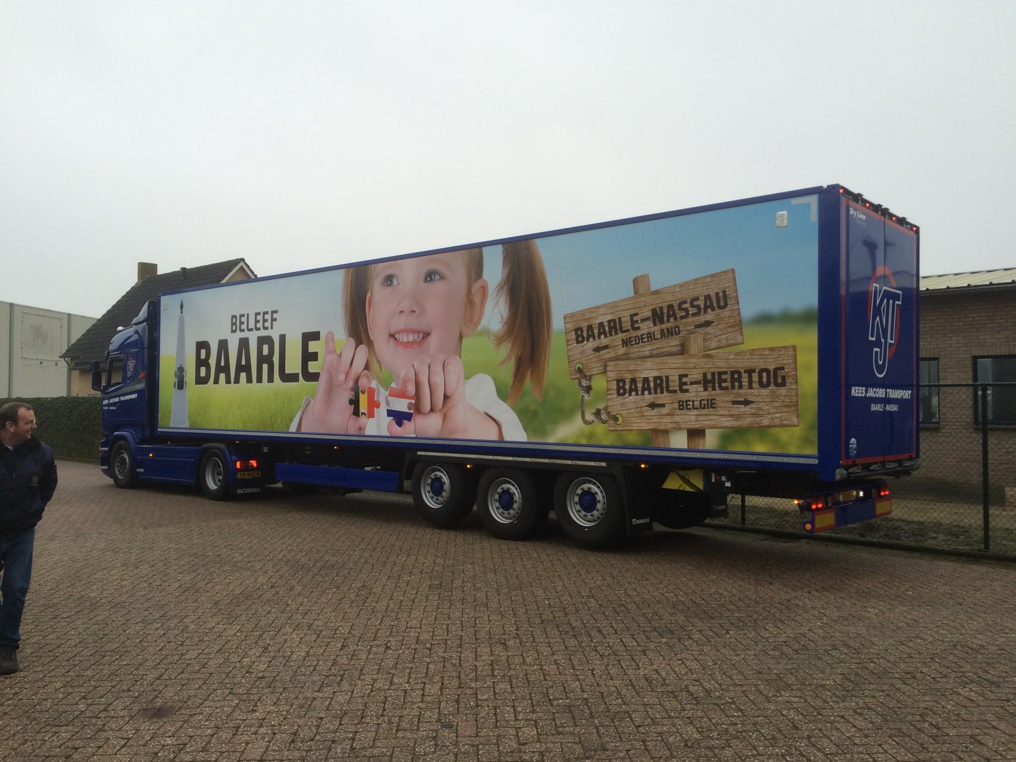 Trailerbelettering Baarle